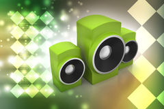 Music speaker Royalty Free Stock Image