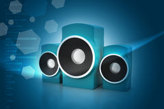 Music speaker Stock Images