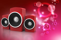 Music speaker Stock Photos