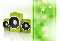 Music speaker Stock Image