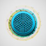 Music speaker Royalty Free Stock Photography