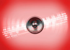Music Speaker and Radio Dial Stock Photos