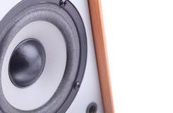 Music speaker. Royalty Free Stock Photography