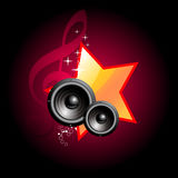 Music speaker vector design Royalty Free Stock Images