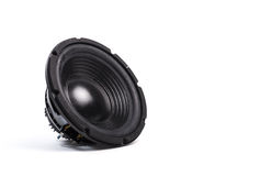 Music speaker, woofer Royalty Free Stock Images