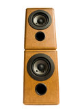 Music speakers Royalty Free Stock Image