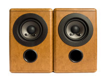 Music speakers Stock Photos