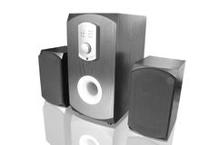 Music speakers Royalty Free Stock Images