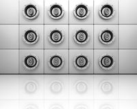 Music speakers Royalty Free Stock Photography