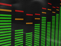Music spectrum Stock Photo