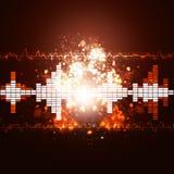 Music Splash Equalizer Background Royalty Free Stock Photos