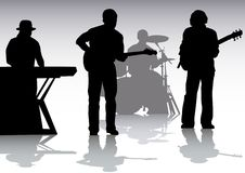 Music on stage Royalty Free Stock Image