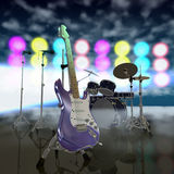 Music stage Royalty Free Stock Images