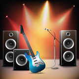 Music stage background Stock Photos