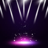 Music Stage Lights stock illustration