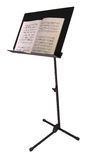 Music Stand With Book Royalty Free Stock Photo