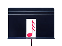 Music Stand with Musical Note Royalty Free Stock Photos