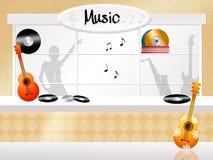 Music store Stock Image