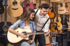 Music store Stock Images
