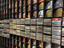 Music Store record Fotografia Stock