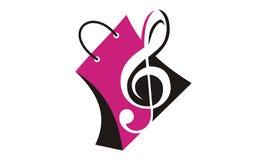 Music Store rozwiązania Zdjęcia Stock