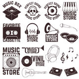 Music store Royalty Free Stock Photos