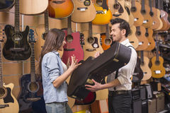 Music store Stock Photography