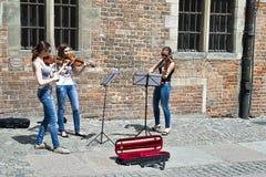 Music on the street Stock Photo