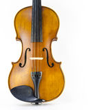 Music string instrument violin isolated on white. Background Royalty Free Stock Images