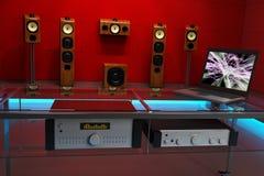 Music studio with equipment Royalty Free Stock Photo