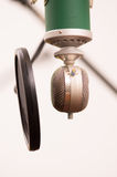 Music studio microphone Royalty Free Stock Photos