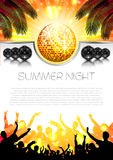 Music Summer Background - Vector Stock Photography