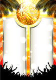 Music Summer Background - Vector royalty free illustration