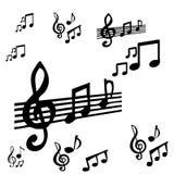 Music symbol Royalty Free Stock Photography