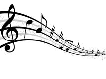 Music symbol Stock Photo
