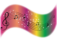 Music symbol Royalty Free Stock Photography