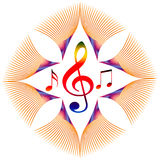 Music symbol Royalty Free Stock Image