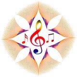 Music symbol vector illustration