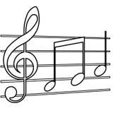 Music symbol Royalty Free Stock Photo