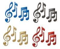 Music Symbols Stock Image