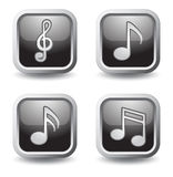 Music symbols Stock Images