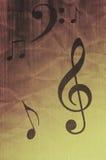 Music symbols royalty free stock photo