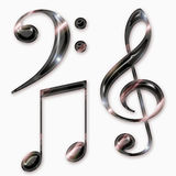 Music symbols Royalty Free Stock Image