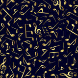 Music symbols background vector Stock Photography