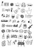 Music symbols Royalty Free Stock Photos