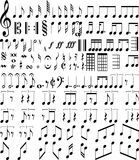 Music symbols Royalty Free Stock Photography