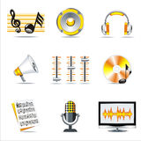 music symbols. Royalty Free Stock Photo