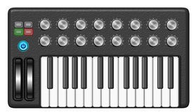 Music Synthesizer Stock Images