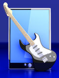 Music Tablet PC Stock Photos