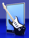 Music Tablet PC Royalty Free Stock Photo